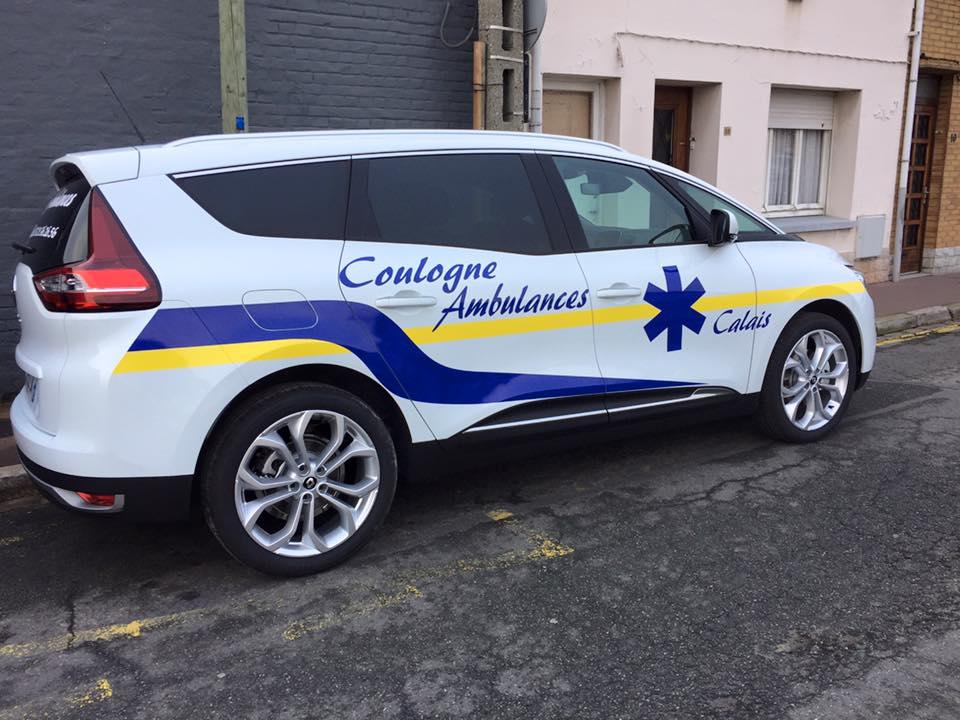 taxi médicalisé à Calais (62) | Coulogne Ambulances