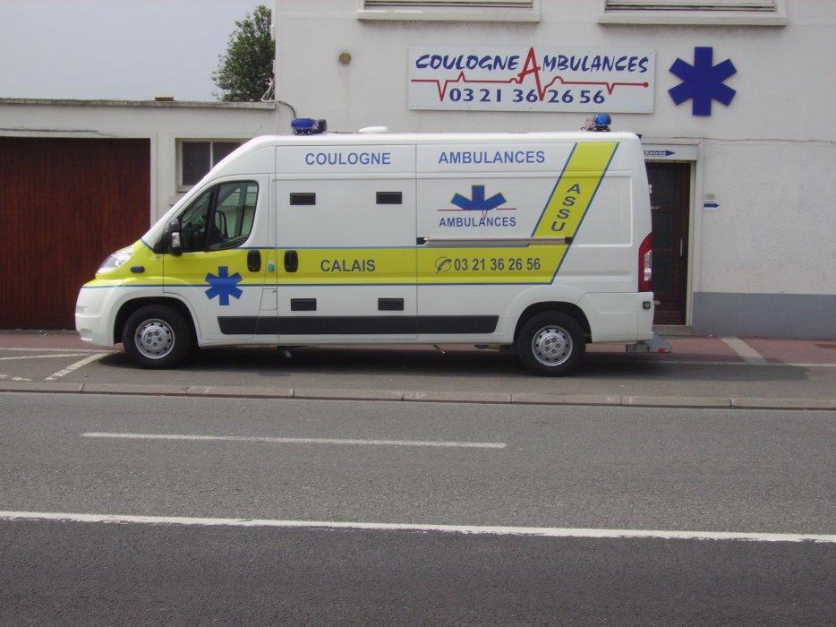 conditions de remboursement des frais de transport à Calais (62) | Coulogne Ambulances