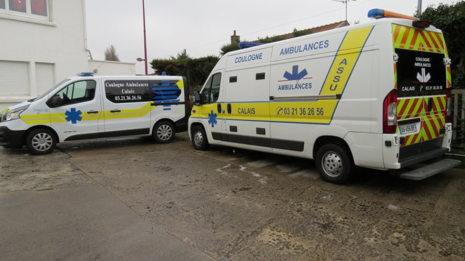 Transport médical à Calais (62) | Coulogne Ambulances