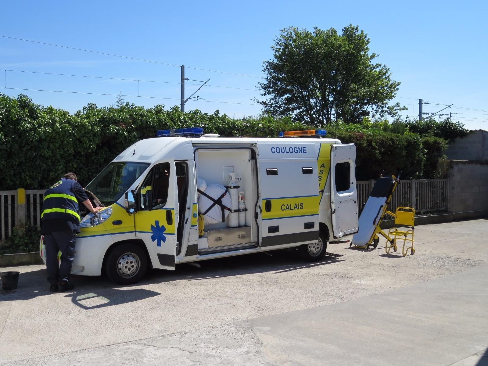 une ambulance propre et confortable à Calais (62) | Coulogne Ambulances